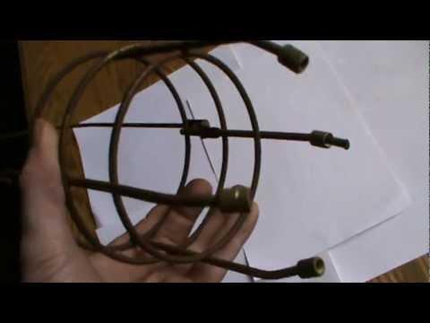 Tilley Oil Lamp Lantern wire frame