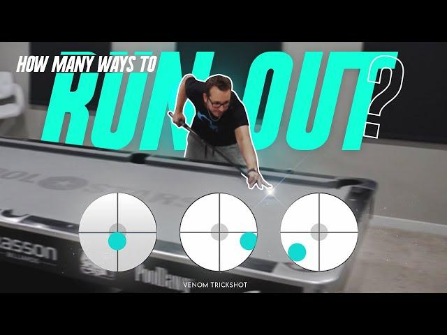 HOW MANY WAYS TO RUN OUT???!! Venom Trickshots