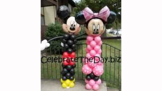 Mickey Mouse Balloon Decoration
