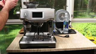 How to adjust grinder burrs on Breville Oracle Touch