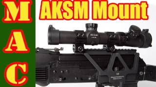 Midwest Industries AKSM 1913 Rail Mount for the AK Rifle