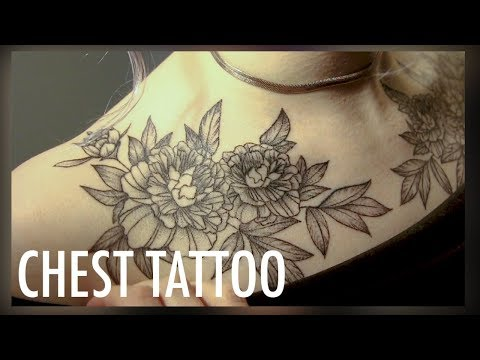 CHEST TATTOO VLOG   (so. much. PAIN.)