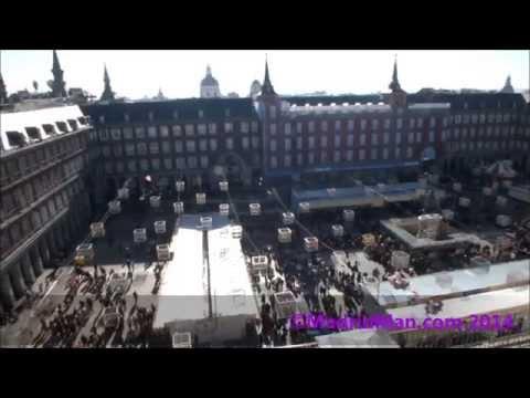 Plaza Mayor Madrid Rooftop Views