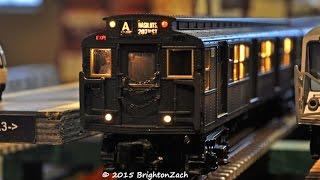 mth mta nyc transit r 1 9 series a train subway set january 2015