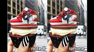 Apple Iphone 10 Vs Samsung Galaxy Note 8 Camera test  Samsung galaxy Note 8 Vs Apple Iphone 10