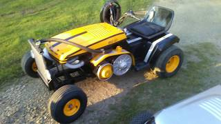 Riding Mower - 72 Sears deck update 3