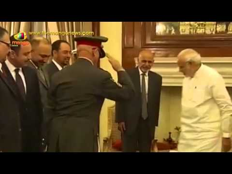 PM Modi meets Afghanistan President Ghani at Hyderabad House, Delhi