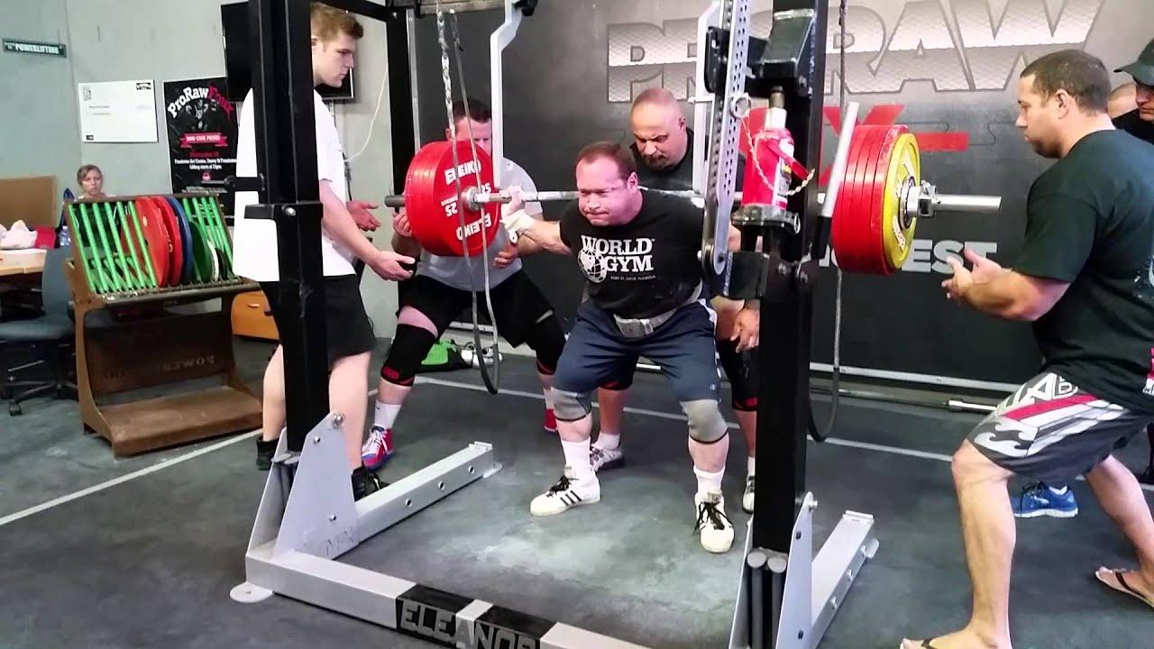 Ed Coan squats 312.5kg x 3 PTC HQ - YouTube