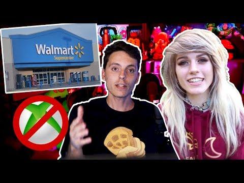 Walmart Banea Videojuegos y Marina Joyce desAPARECE-Wefere NEWS