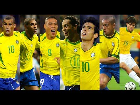 Brazil 2006 ● Magic Times ● Ronaldinho ● Adriano ● Ronaldo ● Kaká ● R.Carlos ● Robinho ● Juninho