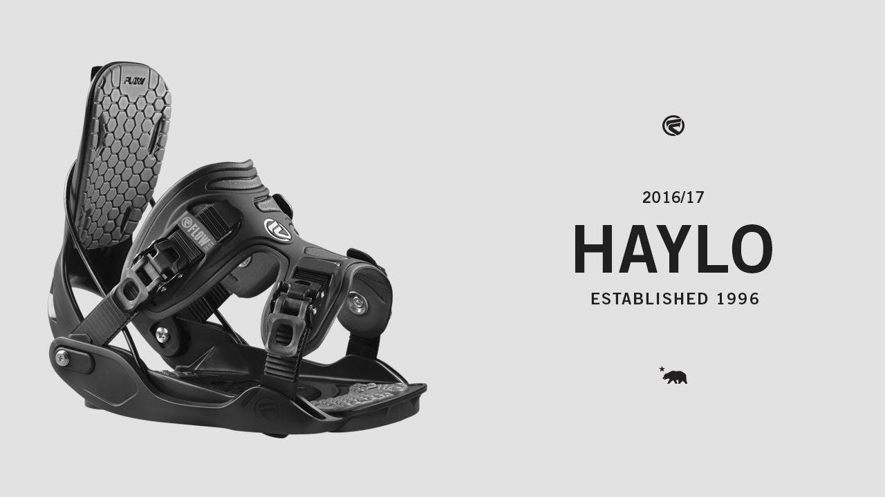 c96dd23a2f4 Flow Haylo Bindings 2016-17 - YouTube