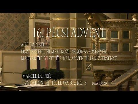 Maurice Dupre: Evocation III. tétel Op. 37., No. 3. Deák László