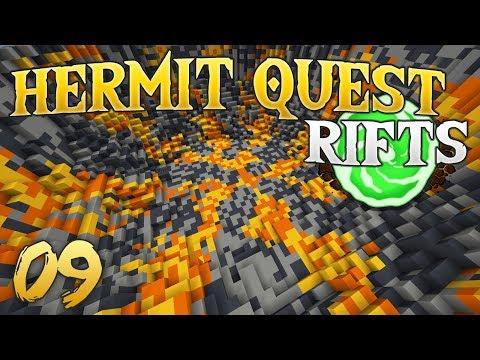 Hermit Quest Rifts 09 Underground Encounter