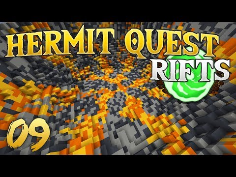 Hermit Quest Rifts 09 Underground Encounter