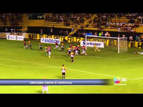 Catarinense: Criciúma e Joinville - Laércio Botega/ Lucas Mendes