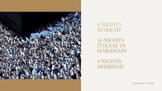 MAKKAH ITIKAAF 2018 - IBADAH TOURS