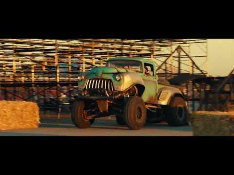 Real Monster Truck Fans at Lucas Oil Speedway