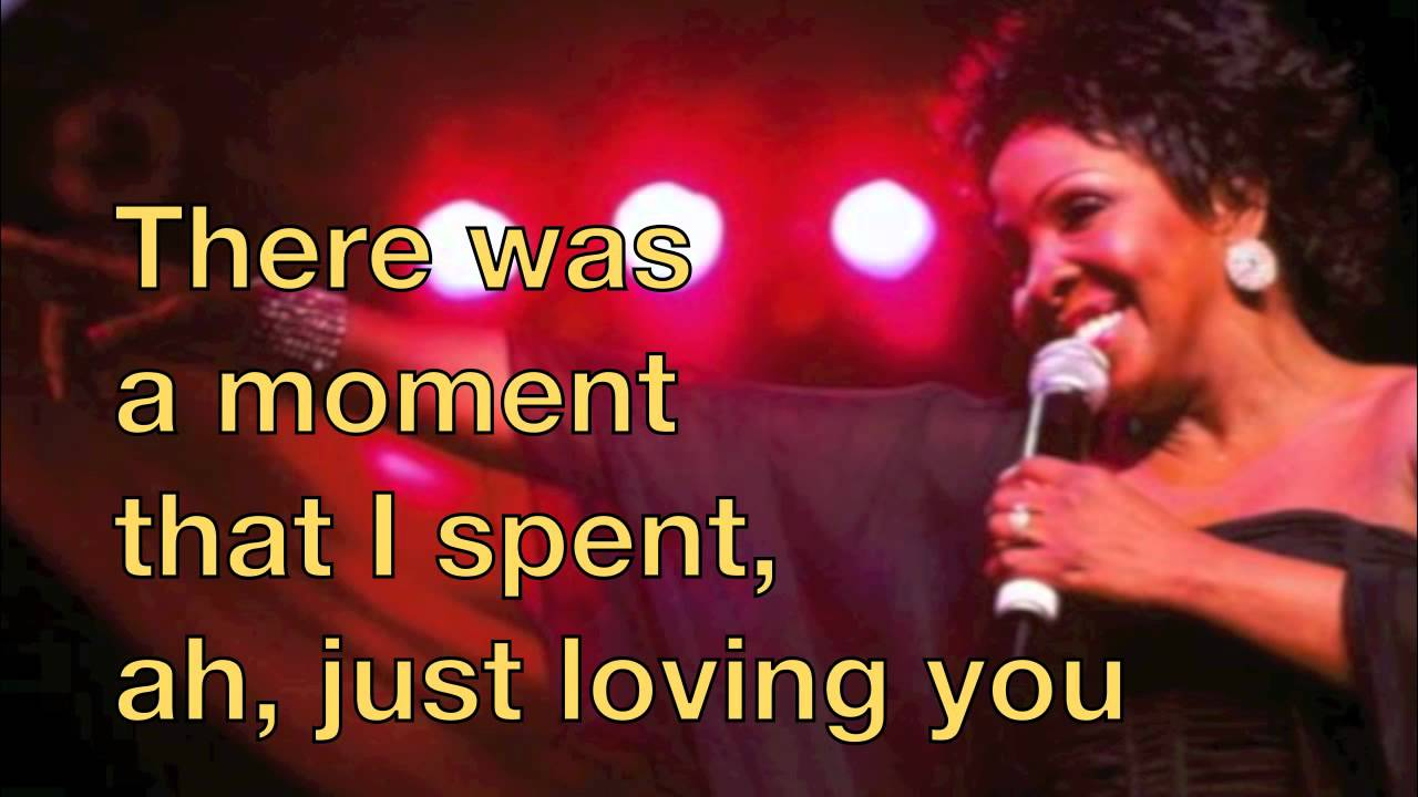 Gladys Knight The Best Thing That Ever Happened To Me Lyrics Youtube