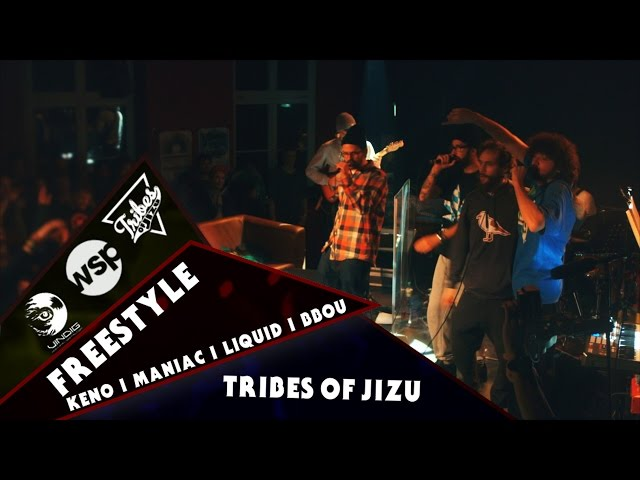 KENO, MANIAC, LIQUID, BBOU w/ TRIBES OF JIZU - FREESTYLE