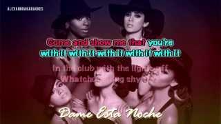Fifth Harmony ft. Kid Ink- Dame Esta Noche, Worth It (Español Karaoke/Instrumental)