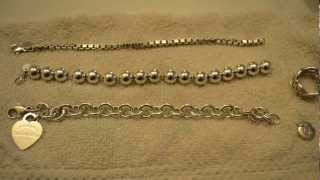 Tiffany & Co Silver Jewelry Cleaning & Maintenance