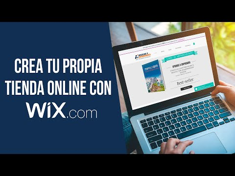 Cómo crear una tienda online con Wix 💻