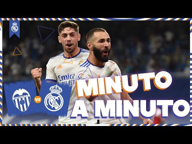 ⏱ MINUTO A MINUTO | Valencia - Real Madrid