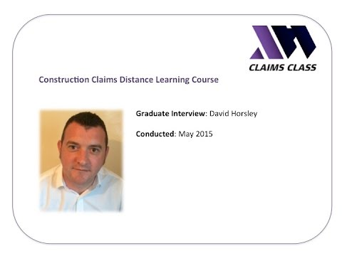Claims Class Graduate Interview - David Horsley
