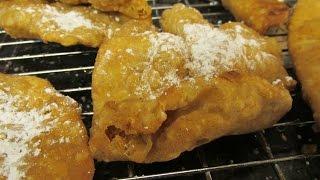 Pig's Ear Pastry - How To Make Les Oreilles De Cochon