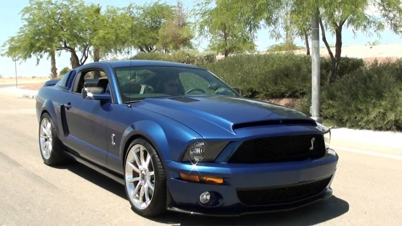 2007 ford mustang shelby gt500 super snake package youtube. Black Bedroom Furniture Sets. Home Design Ideas