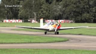 PH-RLA Saab Safir  teuge airport 29-08-2014