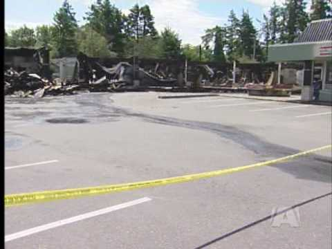 Suspicious Fire Guts Colwood Corners Businesses
