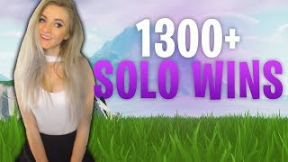 Fortnite - 1 AWAY FROM 1300 SOLO WINS! Live Now! 17K Eliminations. Solos & Squads.