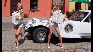 Русские красавицы, аккордеонистки - Дуэт