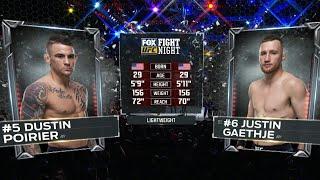 Дастин Порье vs Джастин Гейджи: Вспоминаем бой