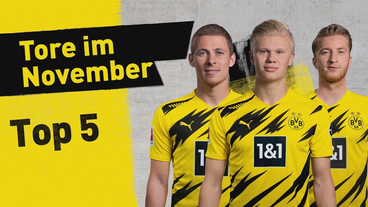 Haaland, Reus & more! | Top 5 - Goals in November
