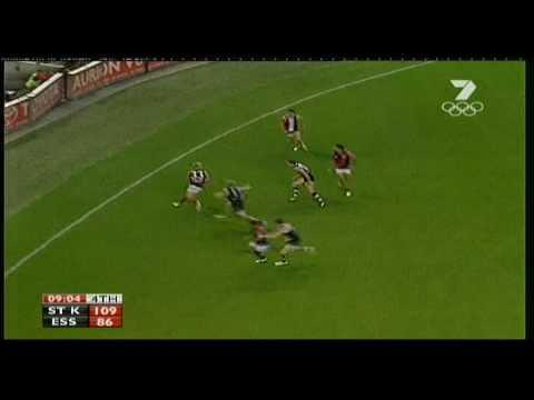 Adam McPhee's boundary snap goal