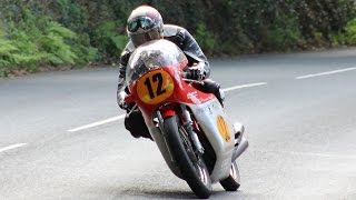 Sounds of the Classic TT 2015 with MV Agusta, Paton, YZR500,Gilera, Honda 500 etc. etc!