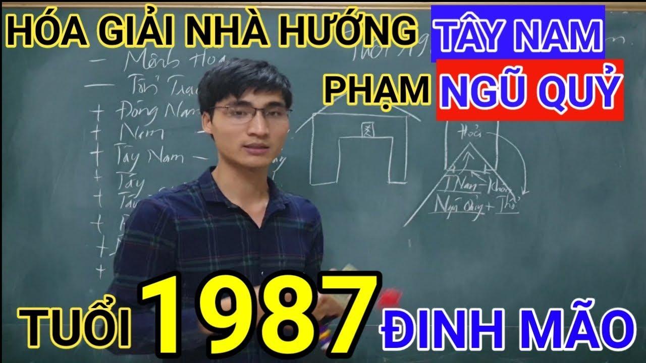 Tuổi Đinh Mão 1987 Nhà Hướng Tây Nam | Hóa Giải Hướng Nhà Phạm Ngũ Quỷ Cho Tuoi Dinh Mao 1987