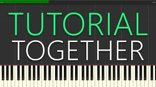 Martin Garrix & Matisse & Sadko - Together (Piano Tutorial)
