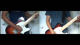bloc party   positive tension   guitar cover all parts