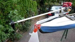 WM2010 Kayak motor, Kanu motor, Kayak moteur, Canoe motor, Marksburg am Rhein