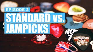 Standard Guitar Picks vs Jampicks Episode 2