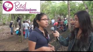 Juventud sandinista a través de mov Guardabarranco realizan viveros demostrativos en Matagalpa