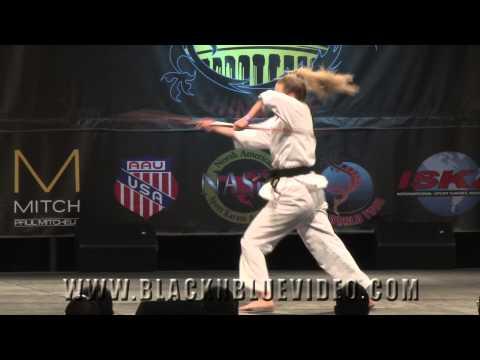 Repeat Sammy Smith Traditional Bo Staff Kata 2014 U S
