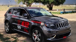 Jeep Grand Cherokee SRT Track Test - One Take