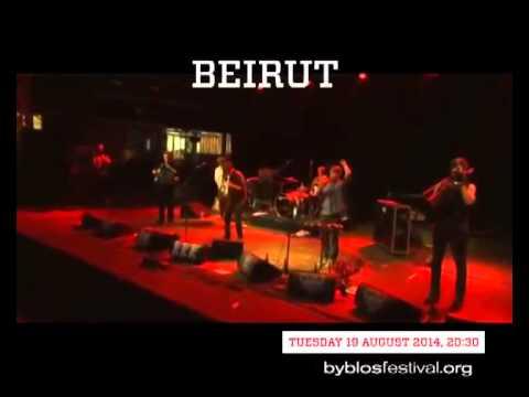 Beirut At Byblos Festival 2014 Teaser (Press Conference Showreel)