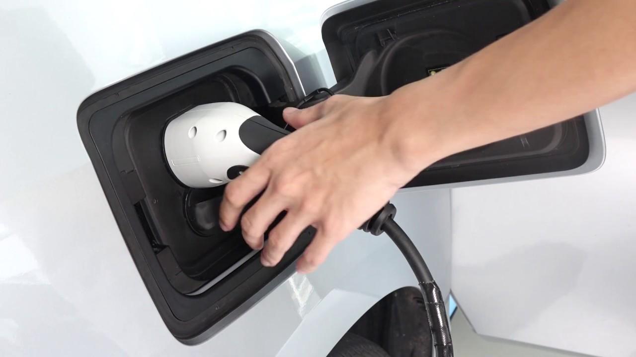 Bmw I3 Emergency Release Of Charging Port Youtube