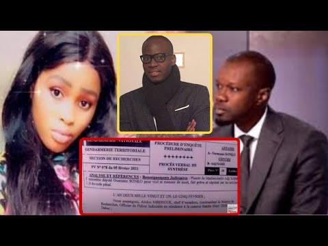 Affaire Sonko Adji Sarr :l'expert Modou Ndiaye fait 4 points, après avoir lu les PV des enquêteurs