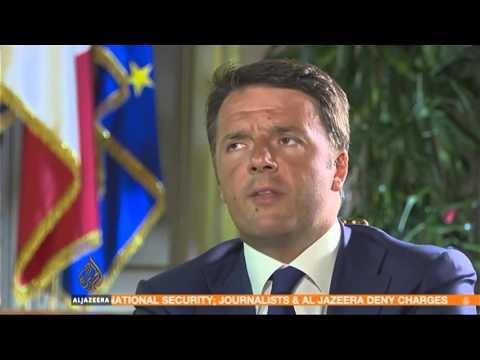 Talk to Al Jazeera. Barbara Serra interviews Italian Prime Minister Renzi